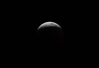 The January 20th lunar eclipse approaches totality.