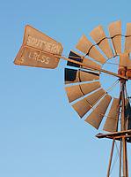 Windmill at the Gawler Ranges National Park, South Australia, Australia