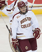 Chris Calnan (BC - 11) - The Boston College Eagles defeated the visiting St. Francis Xavier University X-Men 8-2 in an exhibition game on Sunday, October 6, 2013, at Kelley Rink in Conte Forum in Chestnut Hill, Massachusetts.