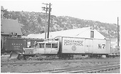RGS Goose #7 in Dolores yard.<br /> RGS  Dolores, CO  Taken by Maxwell, John W. - 5/31/1947