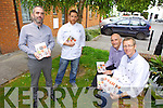 A new Food Producer Directory 'The Kerry Food Story' with recipes from top Kerry Chefs will be launched today (Thursday) at 12 noon in the IT, Tralee. Pictured were: John Harty (Taste Kerry), Dan Browne (ITT Lecturer), TJ O'Connor (Hotel, Culinary and Tourism Department) and Tomás Hayes (Head of Local Enterprise).