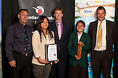 Junior Team of the Year winners Manurewa High School Premier Girls Touch Team.  Counties Manukau Sport Sporting Excellence Awards held at the Telstra Clear Pacific Events Centre Manukau on December 1st 2011.