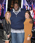 Leigh Anne Tuohy,Quinton Aaron and Collins Tuohy at The Warner Bros. Pictures World Premiere of Joyful Noise held at The Grauman's Chinese Theatre in Hollywood, California on January 09,2012                                                                               © 2012 DVS/Hollywood Press Agency