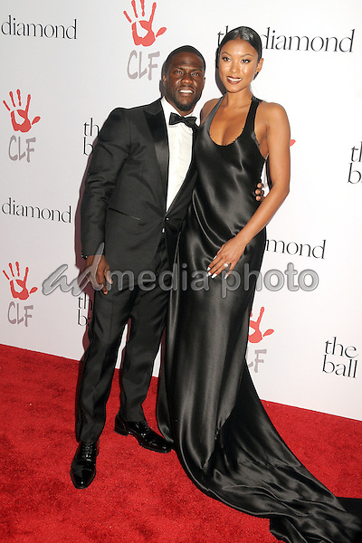 10 December 2015 - Santa Monica, California - Kevin Hart, Eniko Parrish. 2nd Annual Diamond Ball held at Barker Hangar. Photo Credit: Byron Purvis/AdMedia