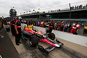 Verizon IndyCar Series<br /> Indianapolis 500 Qualifying<br /> Indianapolis Motor Speedway, Indianapolis, IN USA<br /> Saturday 20 May 2017<br /> Jack Harvey, Michael Shank Racing with Andretti Autosport Honda<br /> World Copyright: Phillip Abbott<br /> LAT Images<br /> ref: Digital Image abbott_IndyQ-0517_19576
