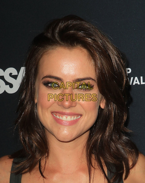 Jessica Stroup.5th Annual Sunset Strip Music Festival Held At  SkyBar at Mondrian, West Hollywood, California, USA, .17th August 2012..portrait headshot eyelashes beauty make-up smiling eyeliner .CAP/ADM/KB.©Kevan Brooks/AdMedia/Capital Pictures.