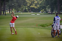 Carlota Ciganda (ESP) watches her tee shot on 10 during round 4 of the U.S. Women's Open Championship, Shoal Creek Country Club, at Birmingham, Alabama, USA. 6/3/2018.<br /> Picture: Golffile | Ken Murray<br /> <br /> All photo usage must carry mandatory copyright credit (&copy; Golffile | Ken Murray)