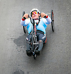 Lima, Peru -  1/September/2019 -   Rico Morneau competes in the mens cycling H 3-5 road race at the Parapan Am Games in Lima, Peru. Photo: Dave Holland/Canadian Paralympic Committee.