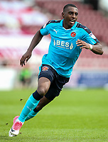 Fleetwood Town's Amari'i Bell .<br /> <br /> Photographer Andrew Kearns/CameraSport<br /> <br /> The EFL Sky Bet League One - Northampton Town v Fleetwood Town - Saturday August 12th 2017 - Sixfields Stadium - Northampton<br /> <br /> World Copyright &copy; 2017 CameraSport. All rights reserved. 43 Linden Ave. Countesthorpe. Leicester. England. LE8 5PG - Tel: +44 (0) 116 277 4147 - admin@camerasport.com - www.camerasport.com