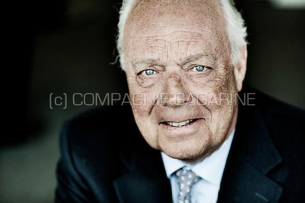 Roger Van Den Stock, president of Belgian football club R.S.C. Anderlecht (Belgium, 20/01/2015)
