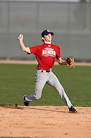 January 16, 2010:  Pierson Waring (Vicksburg, MS) of the Baseball Factory East Team during the 2010 Under Armour Pre-Season All-America Tournament at Kino Sports Complex in Tucson, AZ.  Photo By Mike Janes/Four Seam Images