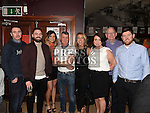 Mairead O'Connell, Roy Duffy, Pat O'Connell, Melissa O'Connell, Niamh O'Connell, Craig O'Connell, Brendan Coyle and Ciaran Coyle pictured at the Rock for Ryan event at The Venue in McHugh's. Photo:Colin Bell/pressphotos.ie