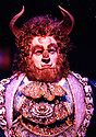 John Barrowman as The Beast in Beauty and the Beast Dominion Theatre 1997 pic Geraint Lewis