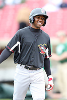 May 15, 2010: Michael Swinson of the Quad City River Bandits at Elfstrom Stadium in Geneva, IL. The River Bandits are the Class A affiliate of the St. Louis Cardinals. Photo by: Chris Proctor/Four Seam Images