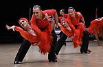 """07.12.2019,  GER; Tanzen, WDSF Weltmeisterschaft der Lateinformationen, Zwischenrunde, im Bild Duet Perm (RUS) mit dem Thema """"One Heartbeat"""" Foto © nordphoto / Witke *** Local Caption ***"""
