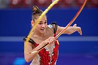 September 9, 2018 - Sofia, Bulgaria - ALEKSANDRA SOLDATOVA of Russia performs during early trainings at 2018 World Championships.