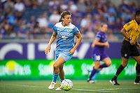 Orlando, FL - Saturday July 16, 2016: Sofia Huerta during a regular season National Women's Soccer League (NWSL) match between the Orlando Pride and the Chicago Red Stars at Camping World Stadium.