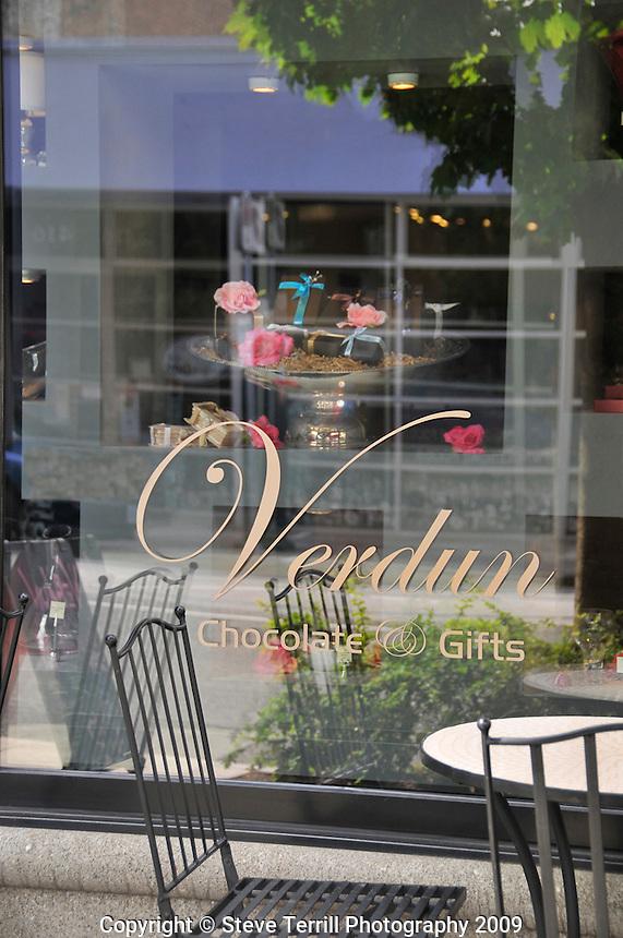 Verdun Chocolates store in The Pearl District of Portland Oregon