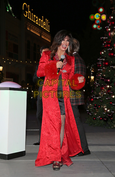 19 November 2016 - Las Vegas, NV -  Marie Osmond.  Donny and Marie Osmond host annual tree lighting celebration at The LINQ Promenade.   <br /> CAP/ADM/MJT<br /> &copy; MJT/ADM/Capital Pictures