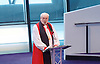 Greater London Assembly Annual Service of Remembrance<br /> at City Hall, The Queen's Walk, London , Great Britain <br /> 11th November 2016 <br /> <br /> <br /> <br />  Bishop of London, the Rt Revd and Rt Hon Dr Richard Chartres,<br /> <br /> <br /> <br /> Photograph by Elliott Franks <br /> Image licensed to Elliott Franks Photography Services