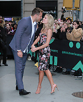 NEW YORK, NY - March 13: Colton Underwood and Cassie Randolph of The Bachelor at Build Series in New York City on March 13, 2019 <br /> CAP/MPI/RW<br /> &copy;RW/MPI/Capital Pictures