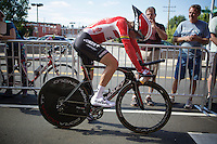 Tony Gallopin (FRA/Lotto-Soudal) after the TTT<br /> <br /> Elite Men&rsquo;s Team Time Trial<br /> UCI Road World Championships Richmond 2015 / USA