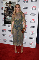 HOLLYWOOD, CA - NOVEMBER 09: Molly Sims at AFI Fest 2017 Opening Night Gala Screening Of Netflix's Mudbound at TCL Chinese Theatre on November 9, 2017 in Hollywood, California. <br /> CAP/MPI/DE<br /> &copy;DE/MPI/Capital Pictures