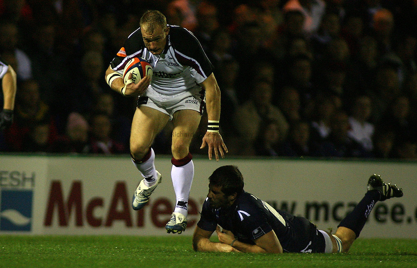 Photo: Paul Thomas..Sale Sharks v Newcastle Falcons. EDF Anglo-Welsh Cup. 29/09/2006...Jamie Noon of Newcastle.