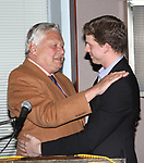 Stark Sands with Brian Murray attending the 2008 St. Clair Bayfield Award presented by the Actor's Equity Foundation at the Actor's Equity offices in New York City.<br />January 9, 2009