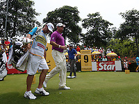 Lee Westwood (ENG) heads down the 9th during the Final Round of the 2014 Maybank Malaysian Open at the Kuala Lumpur Golf & Country Club, Kuala Lumpur, Malaysia. Picture:  David Lloyd / www.golffile.ie