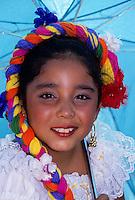 Spanish young girl in flamengo dance costume holding an umbrella foto, reise, photograph, image, images, photo,<br /> photos, photography, picture, pictures, urlaub, viaje, vacation, imagen, viagi, stock