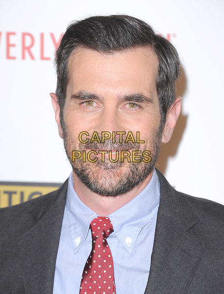 Ty Burrell.The 2nd Annual Critics' Choice Television Awards  held at The Beverly Hilton in Beverly Hills, California, USA..June 18th, 2012.headshot portrait beard facial hair red tie blue shirt grey gray suit.CAP/RKE/DVS.©DVS/RockinExposures/Capital Pictures.