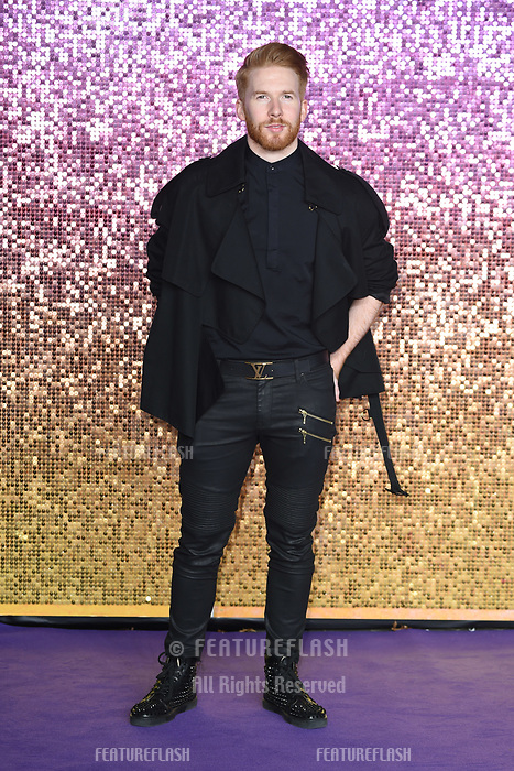 "LONDON, UK. October 23, 2018: Neil Jones at the world premiere of ""Bohemian Rhapsody"" at Wembley Arena, London.<br /> Picture: Steve Vas/Featureflash"