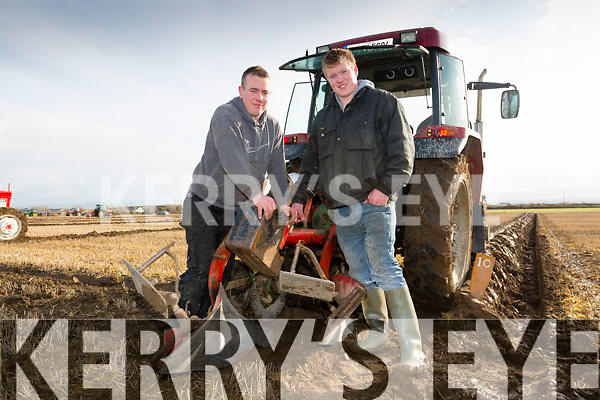 Enda Donnegan and Kevin Lynch From Causeway Ardfert Ploughing Match in  Dominic Flaherty's land, Banna on Sunday