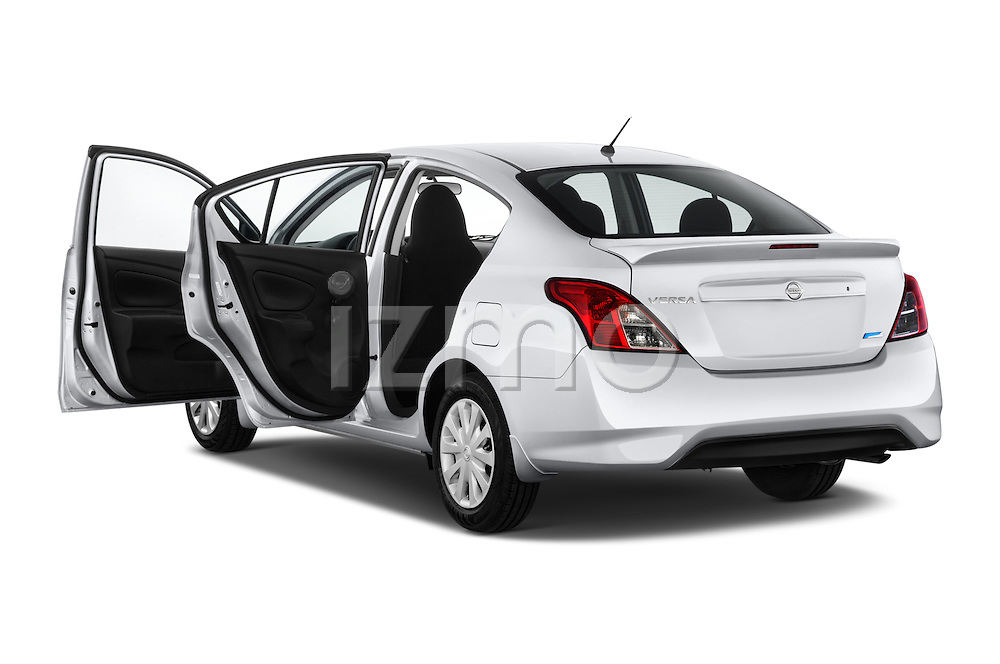 Car images of a 2015 Nissan Versa 1.6 SV CVT 4 Door Sedan Doors