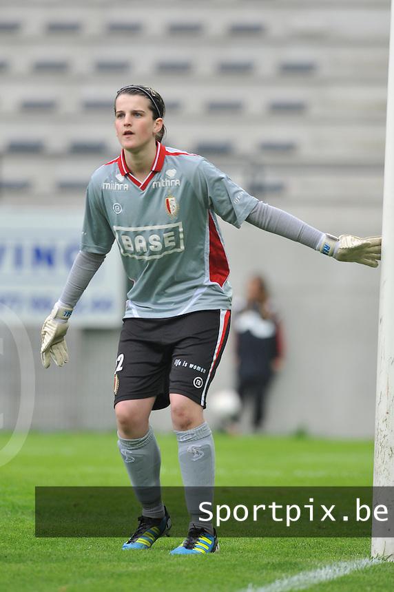 Bekerfinale 2012 : WD Lierse SK - Standard Femina :.Chloe Bellavia.foto David Catry / Joke Vuylsteke / Vrouwenteam.be