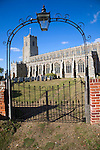 Church of the Holy Trinity, Blythburgh,  Suffolk, England one of the oldest christian sites in East Angl