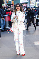NOVA YORK, EUA, 06.02.2019 - CELEBRIDADES-EUA - Priyanka Chopra é vista na região da Times Square em Nova York após participar de um programa de televisão nesta quarta-feira, 06. (Foto: Vanessa Carvalho/Brazil Photo Press)