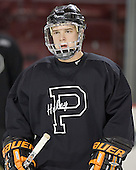 Daryl Marcoux - Princeton University Tigers took part in their morning skate on Friday, December 30, 2005 before facing the University of Denver in their first game of the Denver Cup at Magness Arena in Denver, Colorado.  Princeton defeated DU that evening 4-1.