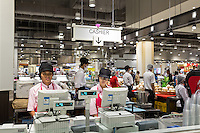 June 30, 2014 - Phnom Penh, Cambodia. Official opening of Aeon Mall. © Nicolas Axelrod / Ruom