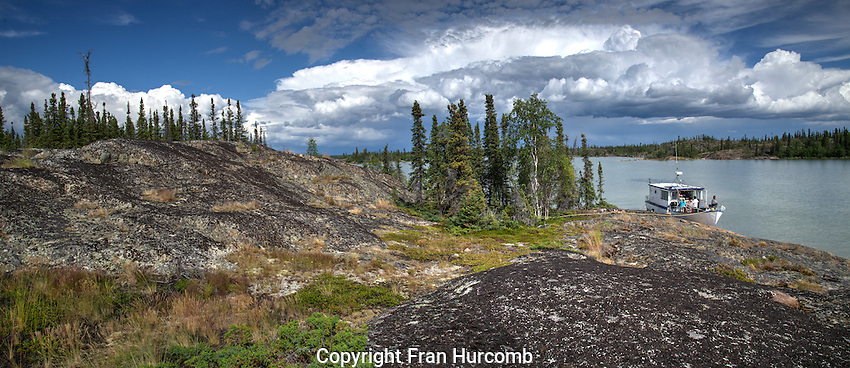 Summer Clouds Great Slave Lake