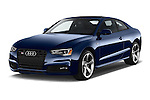2015 Audi S5 4.2 quattro Tiptronic Premium Plus Coupe 2 Door Coupe Angular Front stock photos of front three quarter view