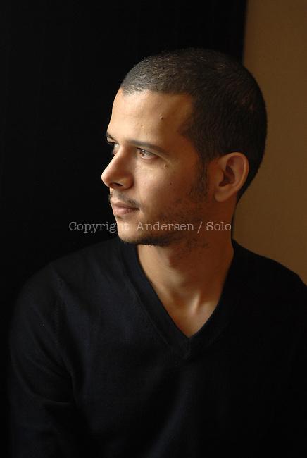 Moroccan writer Abdellah Taia in 2010.