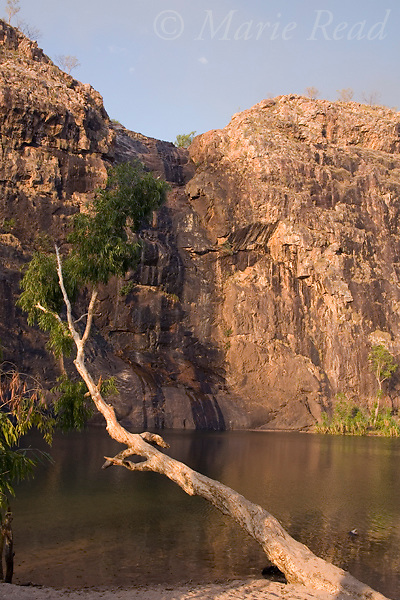 Gunlom Falls in late dry season, Kakadu National Park, Northern Territory, Australia.