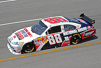 May 1, 2009; Richmond, VA, USA; NASCAR Sprint Cup Series driver Dale Earnhardt Jr during practice for the Russ Friedman 400 at the Richmond International Raceway. Mandatory Credit: Mark J. Rebilas-