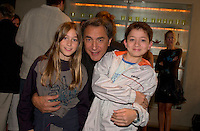 August 28,  2003, Montreal, Quebec, Canada<br /> <br /> Josephine Berry, actress (L), Richard Berry, Film maker (M) Jules Sitruc (R), actor of the movie<br /> MOI, CESAR 10 ANS 10 1/2 1m 39<br /> poswe for a photo<br /> <br /> August 28,2003<br /> <br /> <br /> <br /> <br /> <br /> The Festival runs from August 27th to september 7th, 2003<br /> <br /> <br /> Mandatory Credit: Photo by Pierre Roussel- Images Distribution. (©) Copyright 2003 by Pierre Roussel <br /> <br /> All Photos are on www.photoreflect.com, filed by date and events. For private and media sales