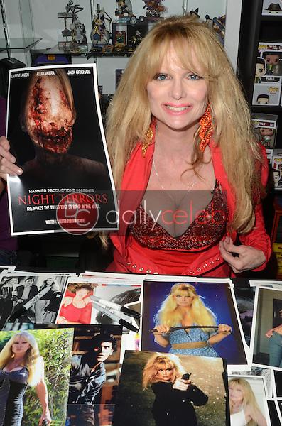 "Laurene Landon<br /> at the 4th Annual ""Day Of The Scream Queens,"" Dark Delicacies, Burbank, CA 01-29-17<br /> David Edwards/DailyCeleb.com 818-249-4998"