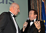 At the Bord G&aacute;is Energy Munster GAA Sports Star of the Year Awards in The Malton Hotel, Killarney on Saturday night were front from left, John Galvin, Waterford, Hurling  Hall of Fame award winner Marty Morrissey.<br /> Picture by Don MacMonagle<br /> <br /> PR photo from Munster Council