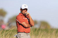 Francesco Molinari (Team Europe) waits on the 10th hole during Saturday's Foursomes Matches at the 2018 Ryder Cup 2018, Le Golf National, Ile-de-France, France. 29/09/2018.<br /> Picture Eoin Clarke / Golffile.ie<br /> <br /> All photo usage must carry mandatory copyright credit (&copy; Golffile | Eoin Clarke)
