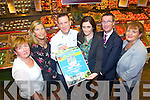 Pictured at the launch of Garveys Food and wine fair which takes place in the Ballyroe Heights Hotel on Friday the 18th October in Conjunction with Spa Fenit Hospice were from left, Noreen O'Leary, Nuala Finnigan, PRO, Chef Mark Doe, Sandra Lynch, Garveys, Mike Ryle, Ballyroe Heights Hotel and Mairead Moriarty, Chairperson Spa Fenit Hospice.